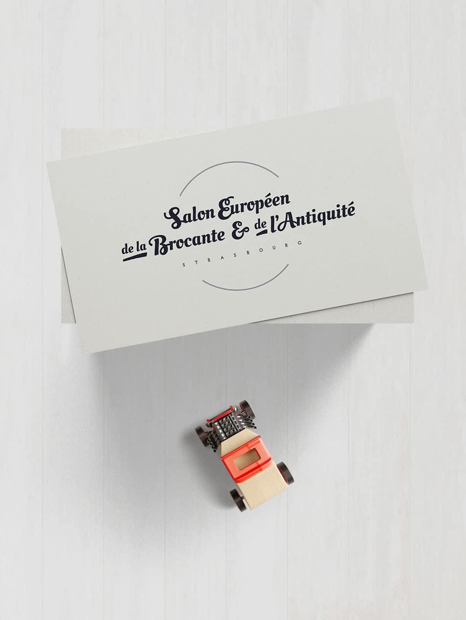 Salon europ en de la brocante et de l 39 antiquit logo for Salon brocante