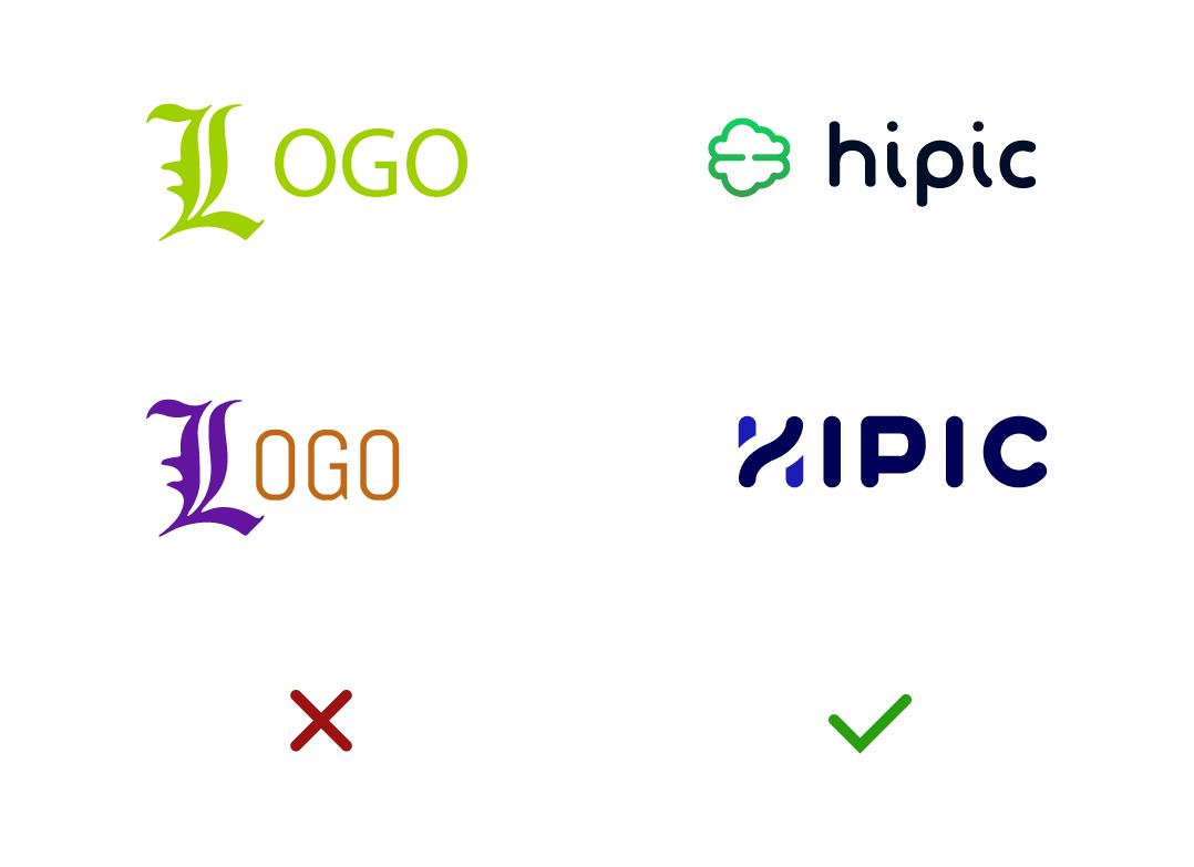 process création de logo