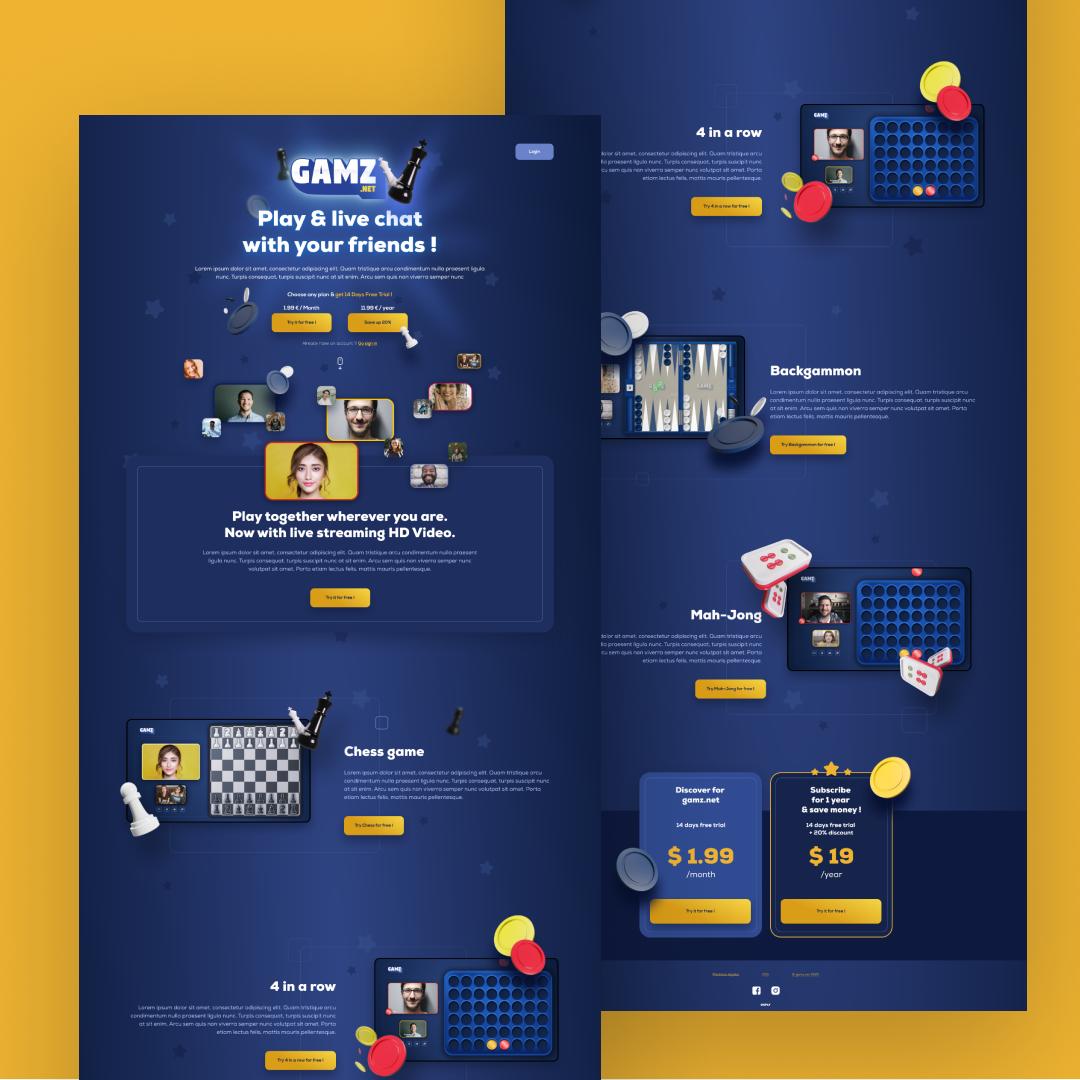 webdesign homepage