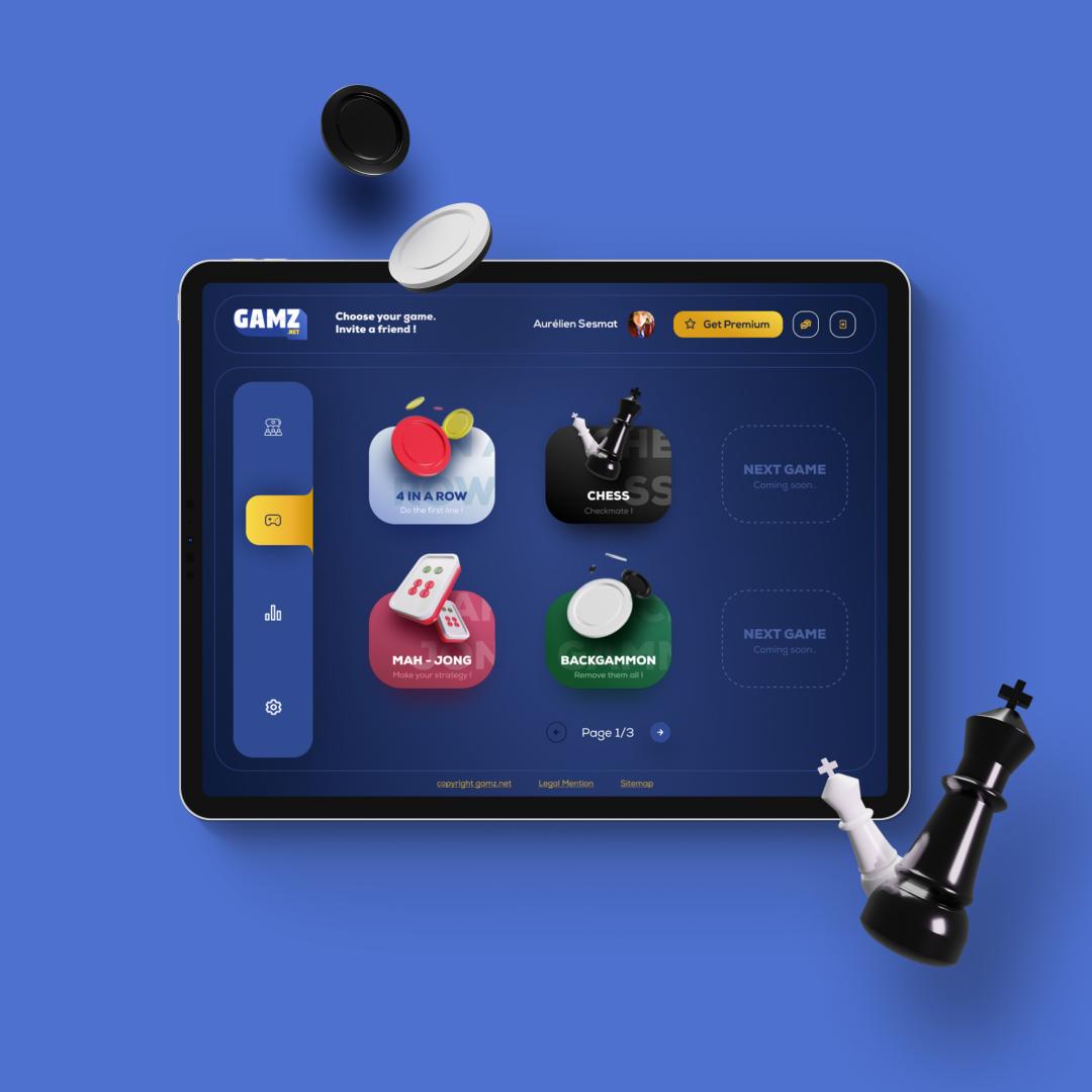webdesign tablett