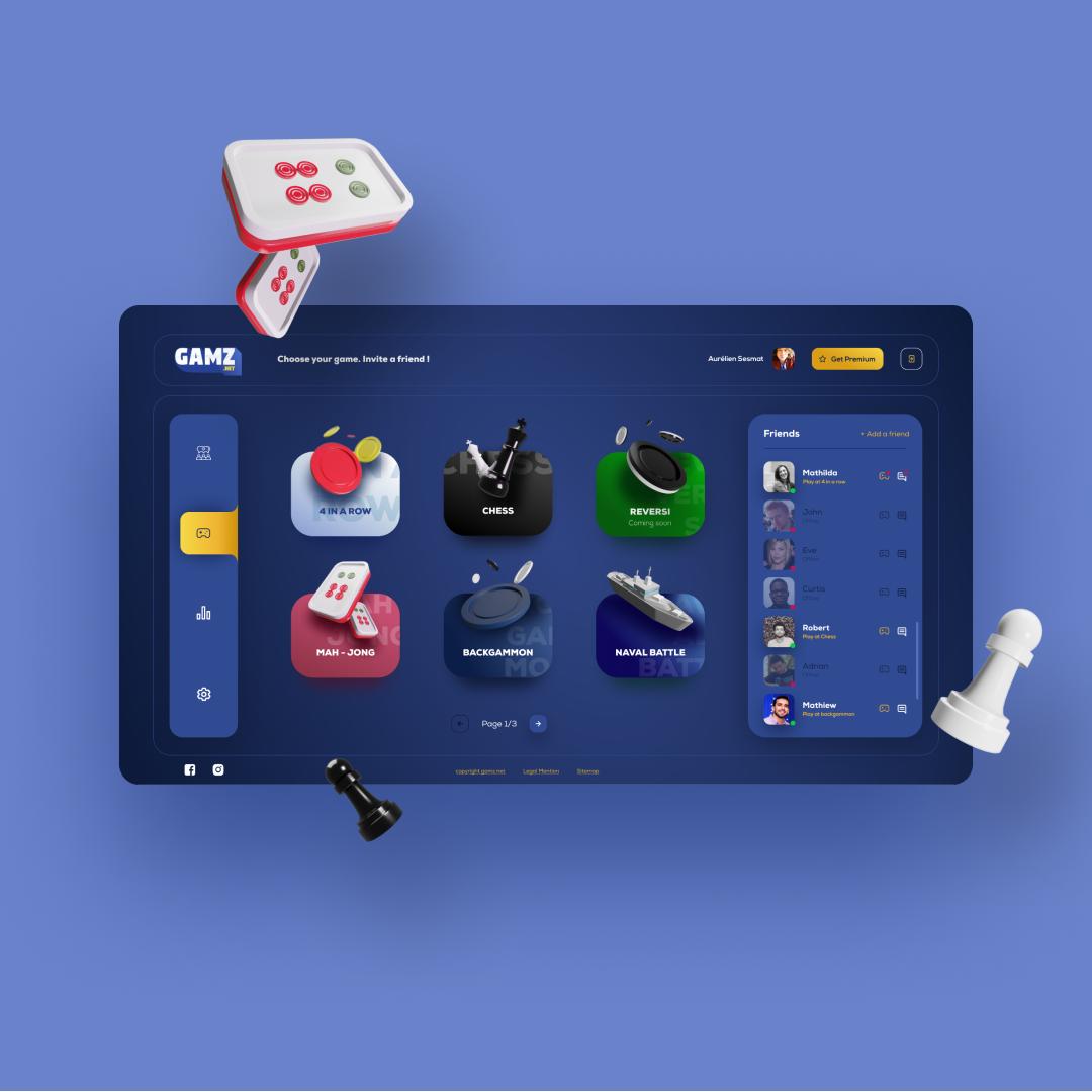 Ui design dashboard